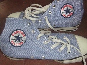 My old Converse Chuck Taylor Sneakers