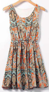 bohemian-style-mini-dress